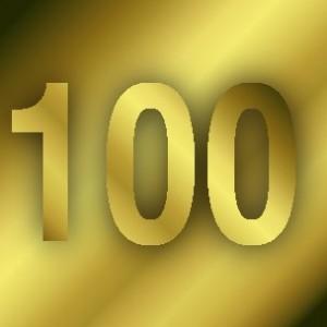 Number 100!