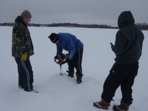 Another Good Morning of Ice Fishing