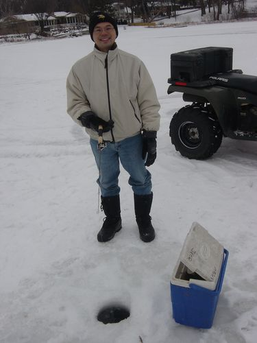Winter Means Ice Fishing