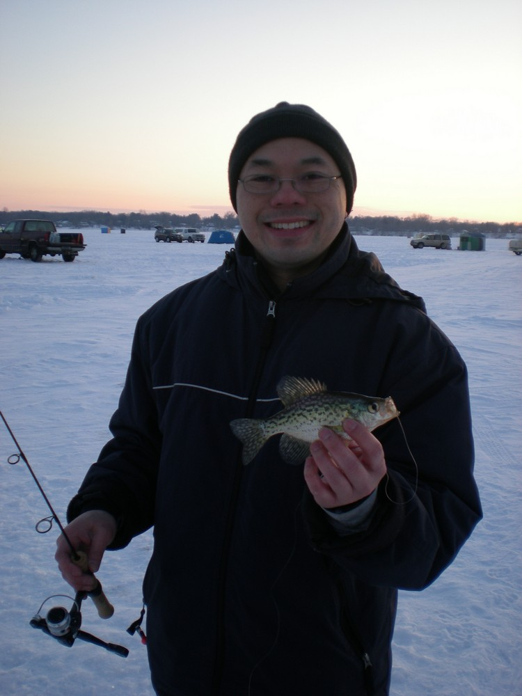 Master of Ice Crappie