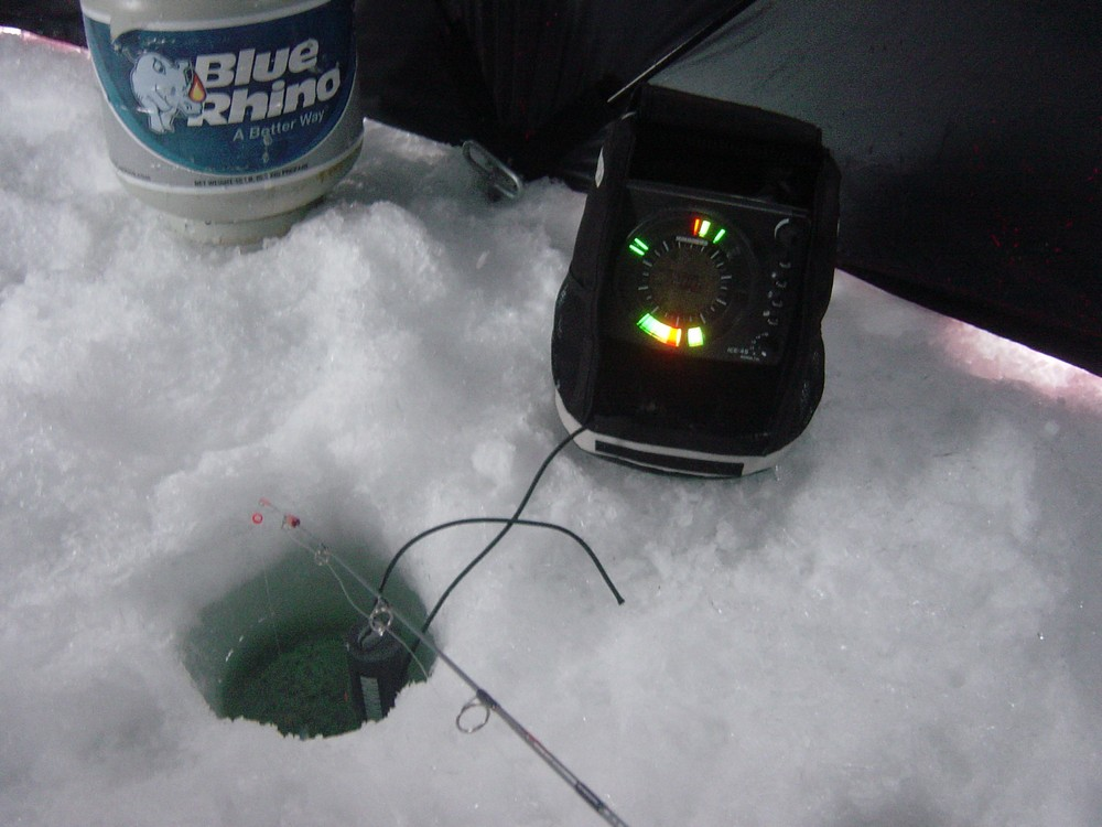 Ice Fishing 301 : Enticing Ice Crappie with the Help of Electronics