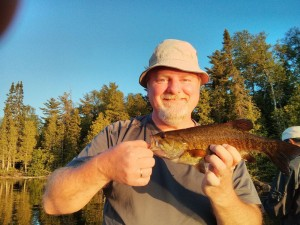 """George's 14"""" smallmouth bass"""